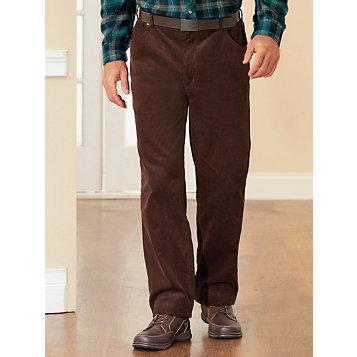 0cae0dcf35c5e1 Haband - Stone Creek™ Side Elastic Corduroy Jeans