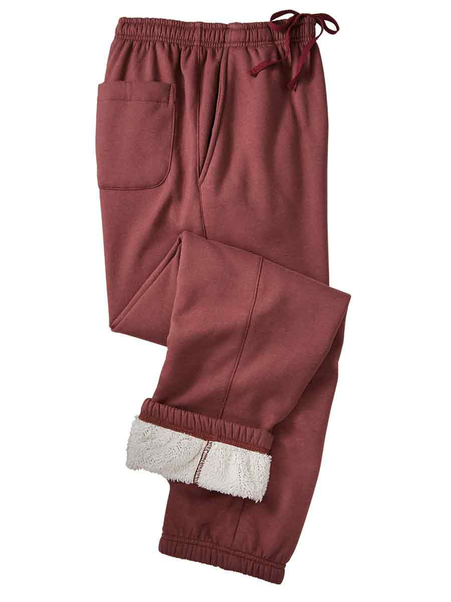 premium selection better price various colors Active Joe® Sherpa-Lined Sweatpants