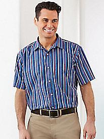 1950s Style Mens Shirts Bold Striped Shirt $18.99 AT vintagedancer.com