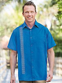1960s – 1970s Mens Shirts- Dress, Mod, T-Shirt, Turtleneck Haband Suave Camp Shirt $14.99 AT vintagedancer.com