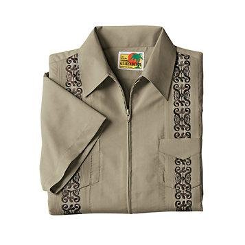 2913a4e9e Haband - Zip Guayabera Shirt