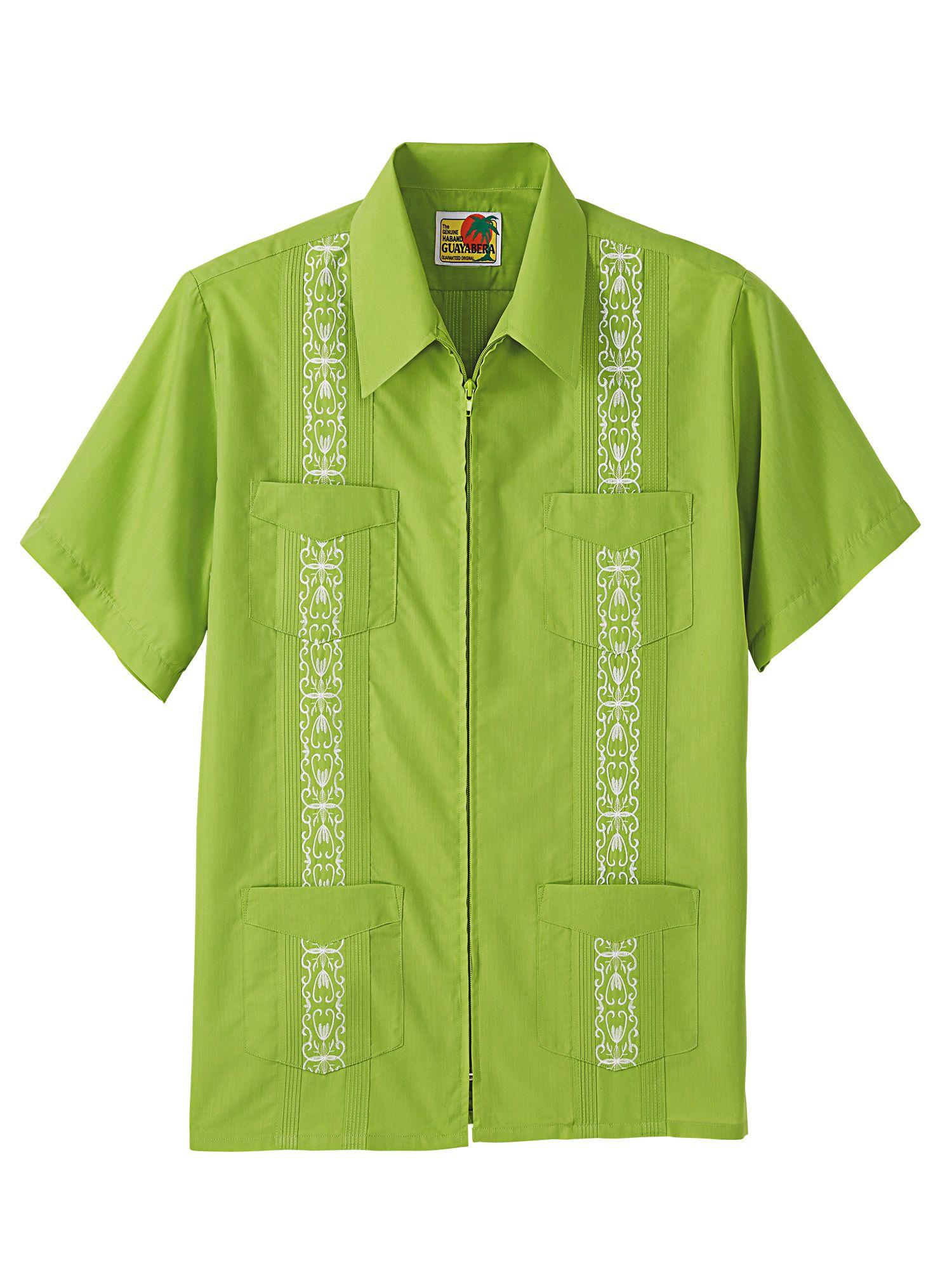 bfb65acf Haband - Zip Guayabera Shirt