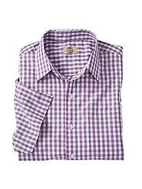 1950s Style Mens Shirts Gingham Shirt $18.99 AT vintagedancer.com