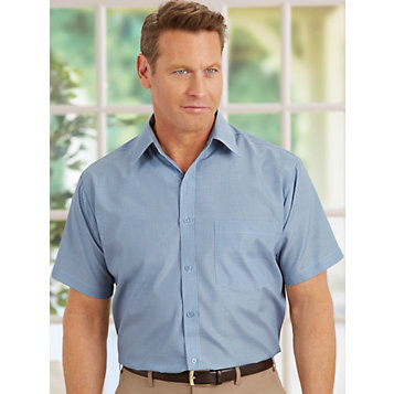 31b6768d Haband - Stain-Resistant Short Sleeve Shirts