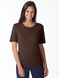 Coastal Cotton Short-Sleeve Crew-Neck Tee