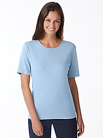Short-Sleeve Crew-Neck Tee by Appleseed's
