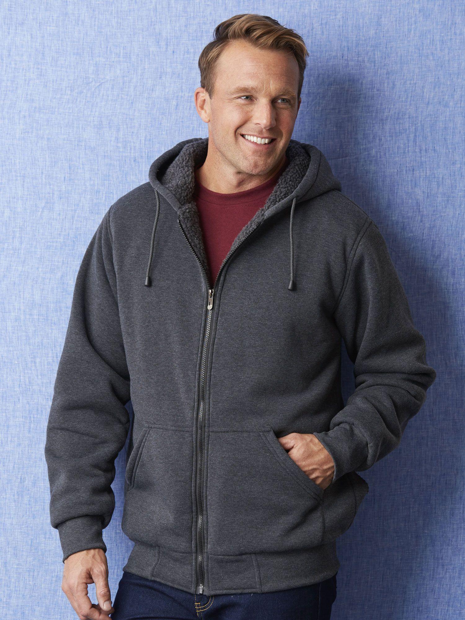 Mens Duke Sherpa Lined Fleece Jacket