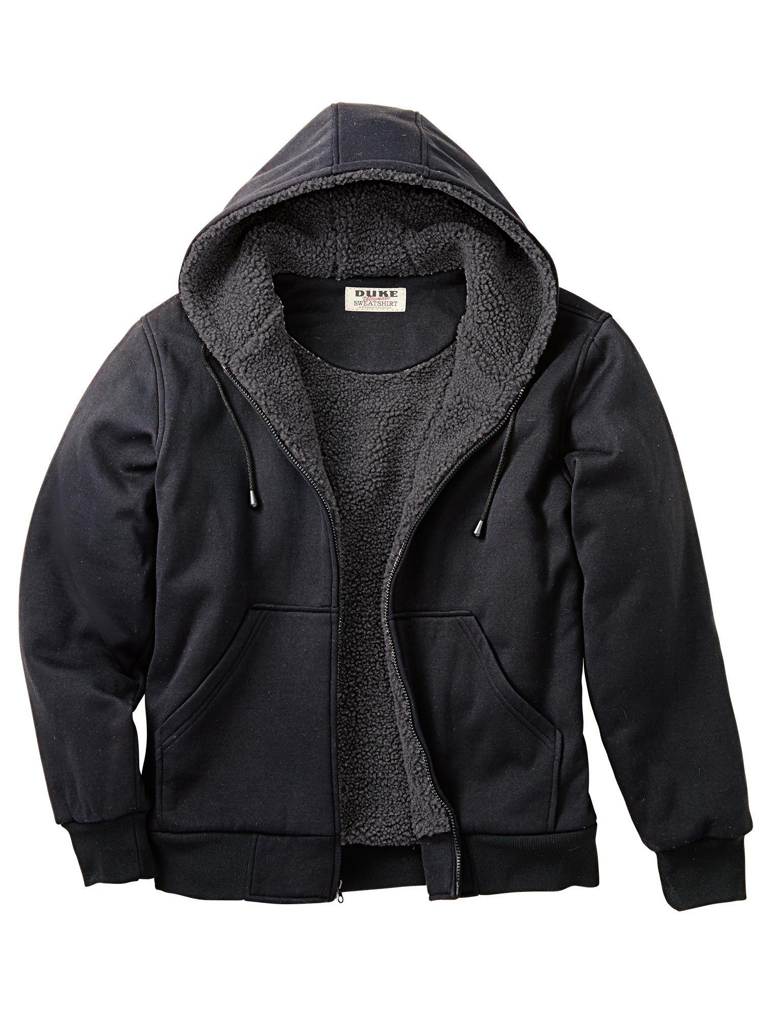 Haband Men's Duke Sherpa-Lined Fleece Jacket (several colors)