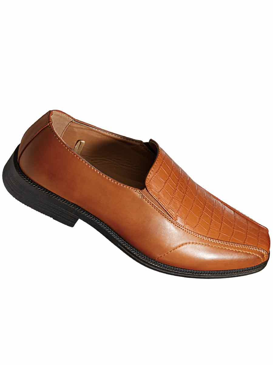 20864c5938072 Haband - Deer Stags® Faux Crocodile Dress Shoes