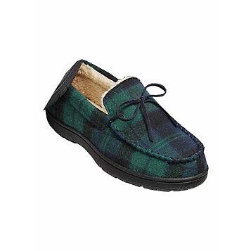8b34c05a1 Haband - GoldToe® Plaid Flannel Slippers