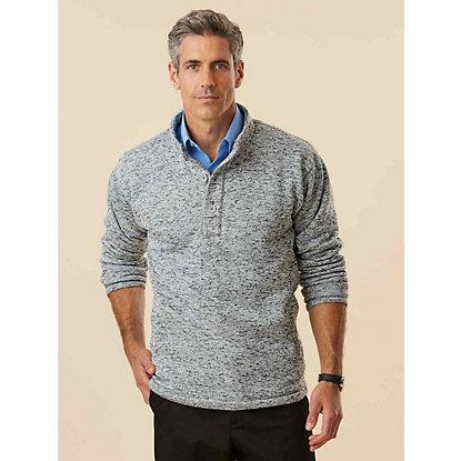 Haband Sweater Fleece Henley