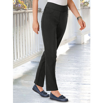 780377a114 Haband - Ruby Road® Signature Stretch Twill Pants