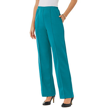 5d0762cc9f2 Haband - Fit   Flatter No Iron Knit Pants