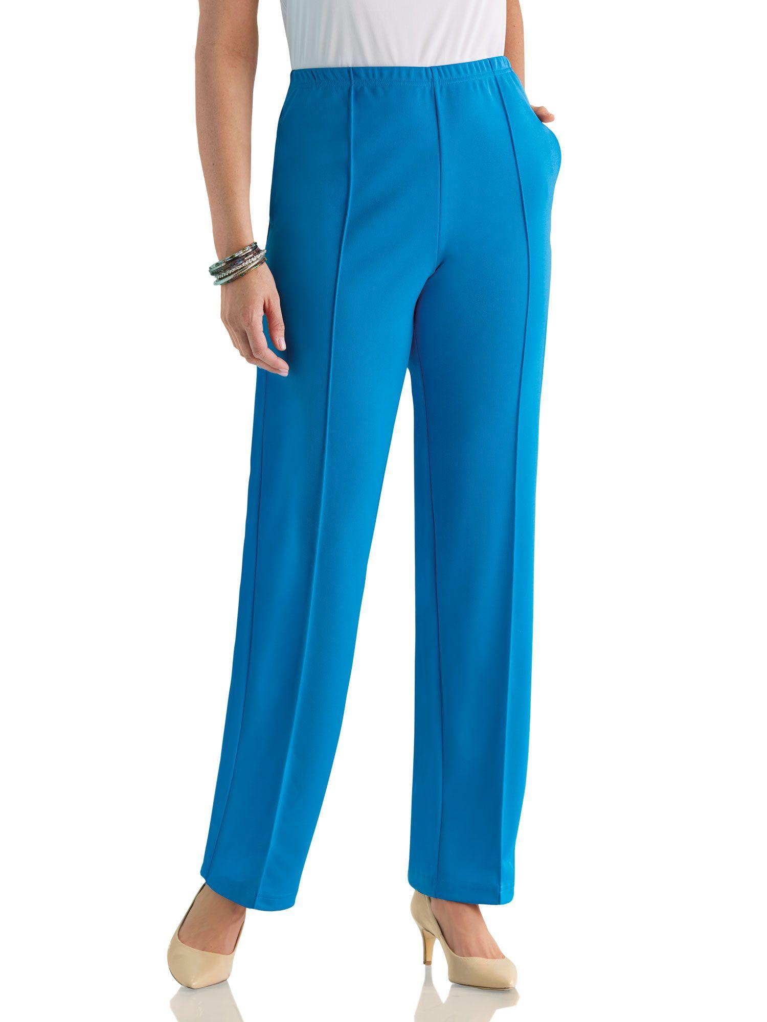 f64bf267f3058b Haband - Fit & Flatter No Iron Knit Pants