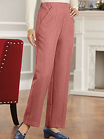 Women's 1960s Style Pants Fit-Forever Gabardine Pants $19.24 AT vintagedancer.com