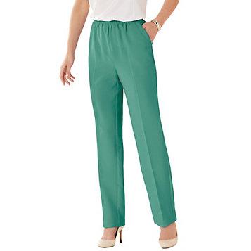 50cb1ba6579 Women s No Iron Poplin Pants. Item Number  A2G