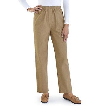 f5ca341db9d569 Haband - Women's Classic Stretch Waist Cotton Jeans