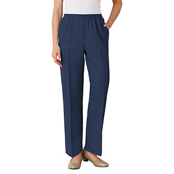 2eadb613dd8 Alfred Dunner® Classic Pull-on Pants. Item Number  A36