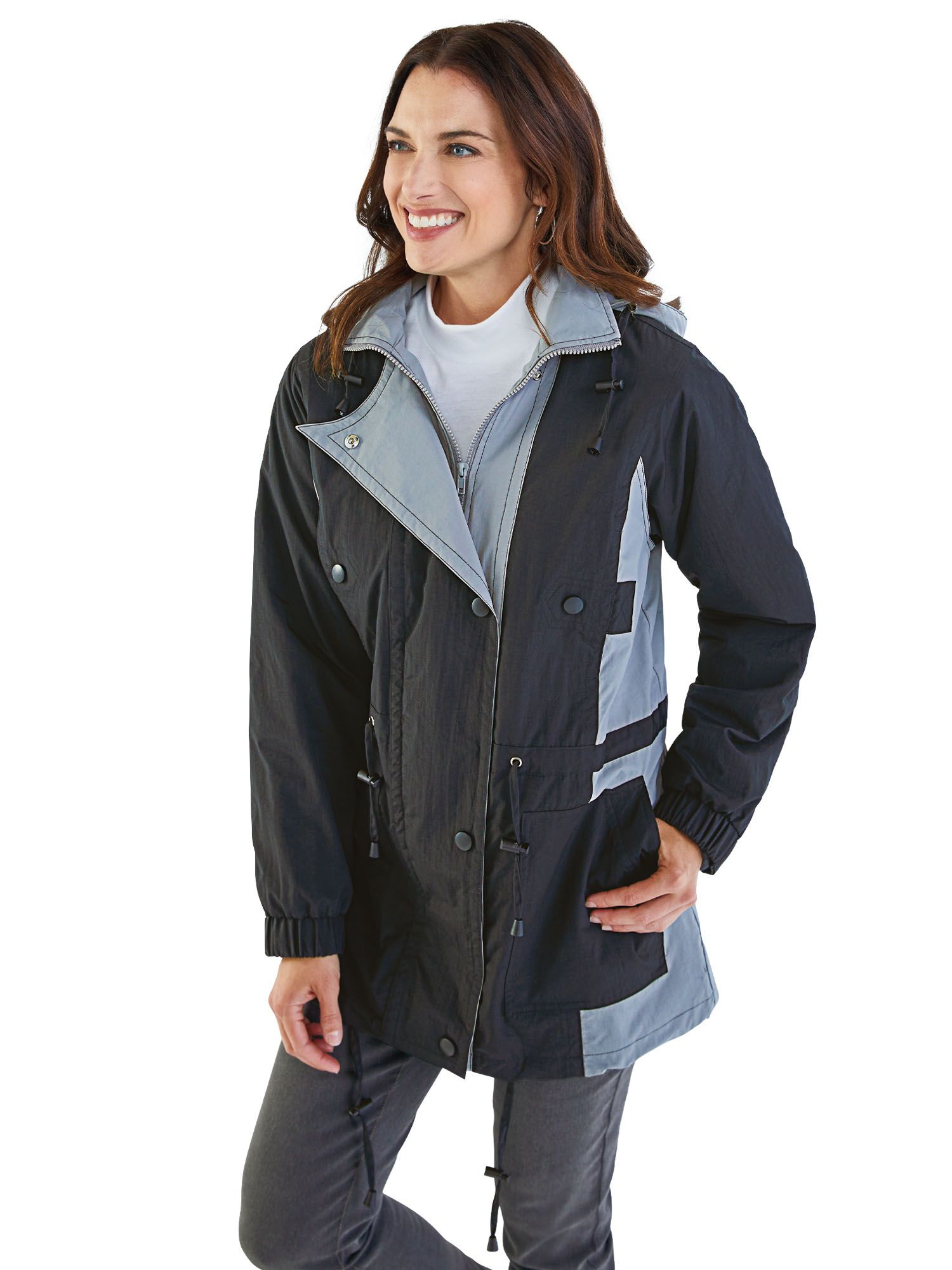00bbd5c5f6a Jacket with Zip-out Fleece Liner. Tap to zoom