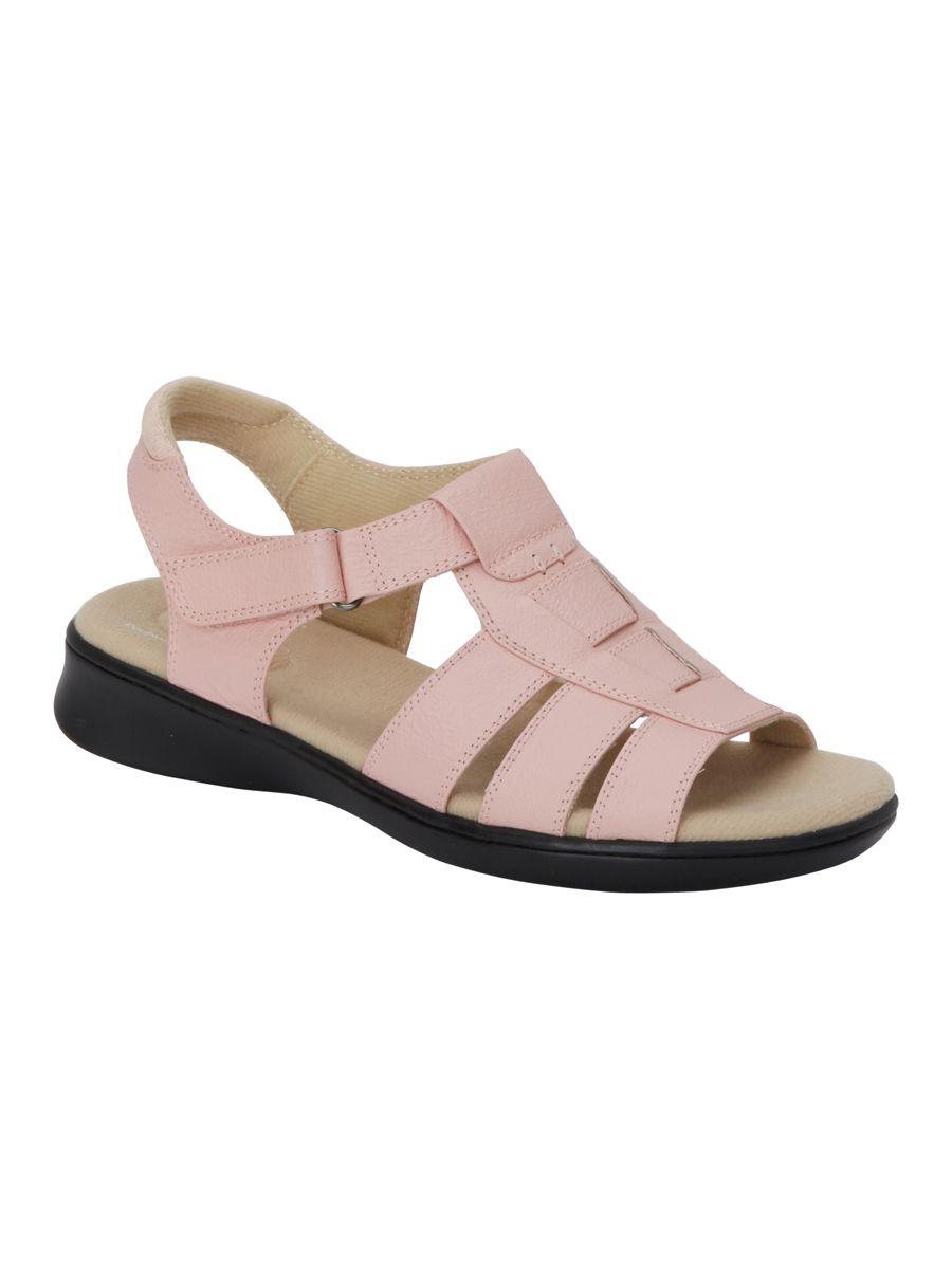 Scholl/'s Leather T-Straps Shoe Sandal Ombre Tan beige size 8 1//2M 9W comfort Dr