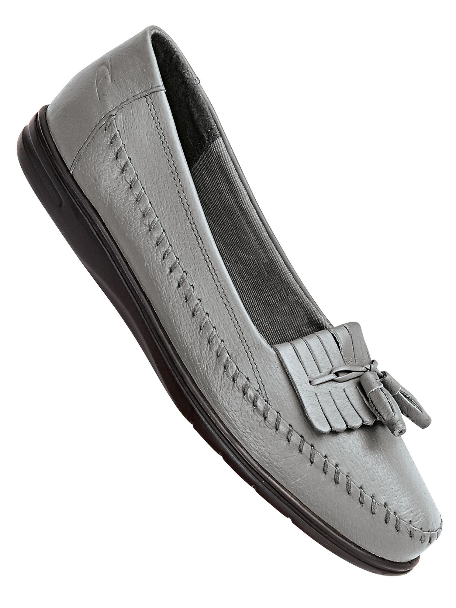 89a921282cd Women s Dr. Scholl s® Leather Kiltie Tassel Loafers. Tap to zoom
