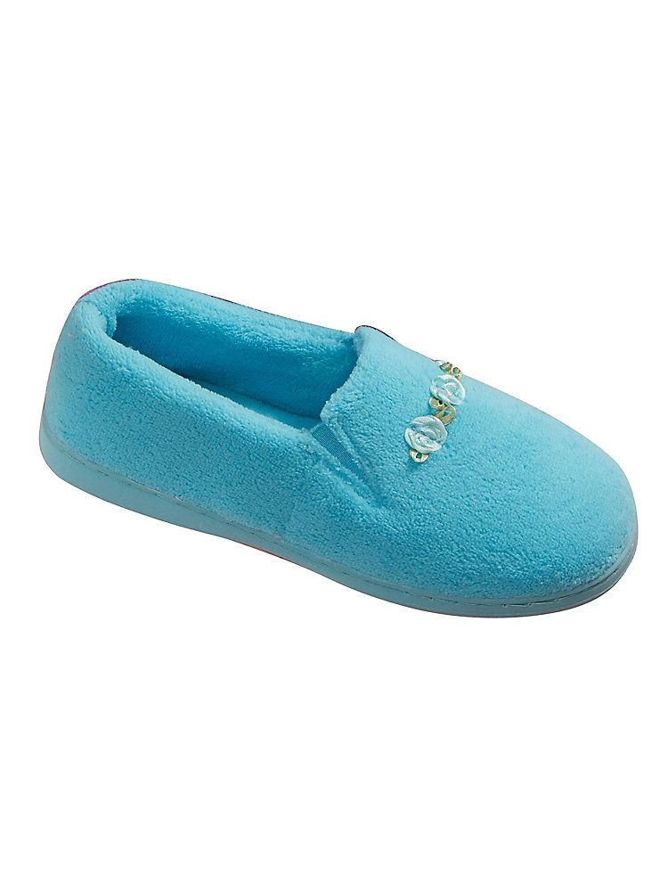 LADIES SPOT ON X2015 CASUAL WINTER INDOOR SLIP ON SOFT SHOES HOUSE SLIPPERS SIZE
