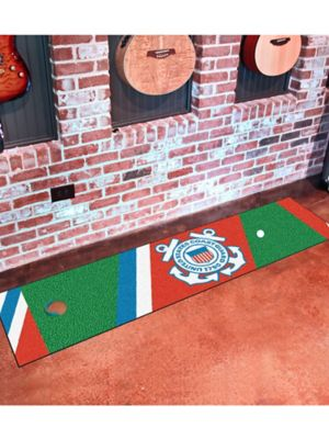 Military Branches Golf Putting Mats. Tap To Zoom