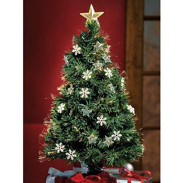 Fiber Optic Rotating Christmas Tree - Haband - Fiber Optic Rotating Christmas Tree