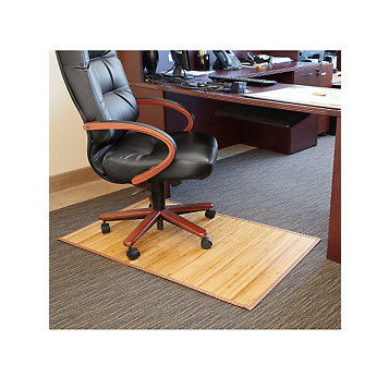 Bamboo Desk Chair Mat