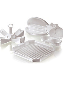 Meridian Point™ 4-Pc. Microwave Cooking Set
