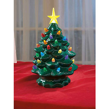 Ceramic Light Up Tree