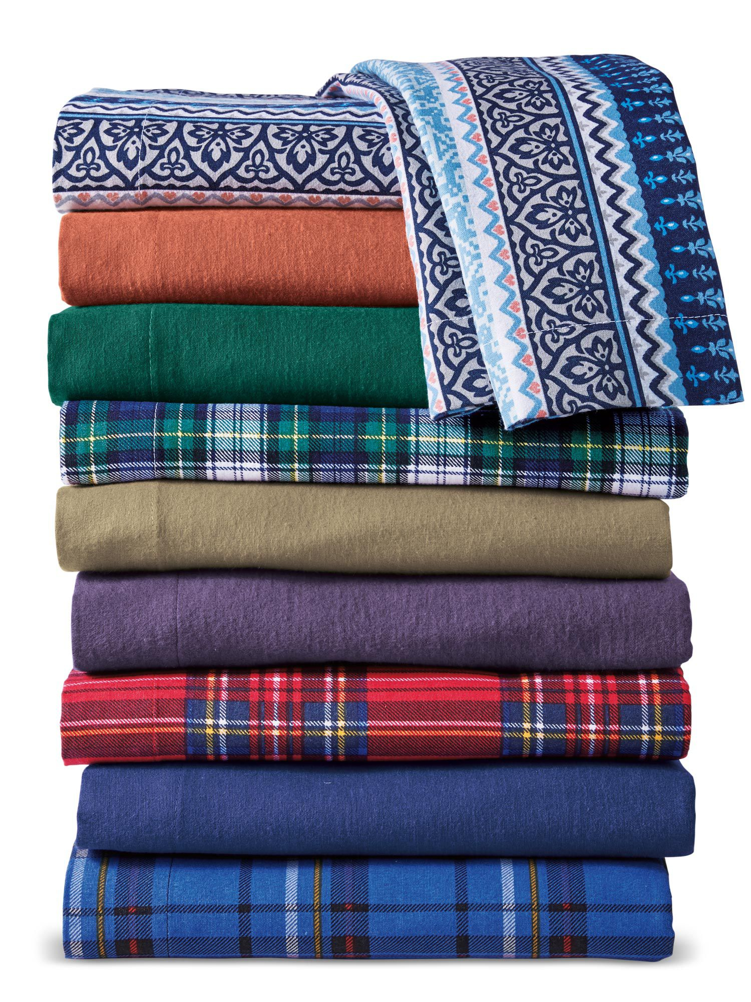 Haband Flannel Sheet Sets