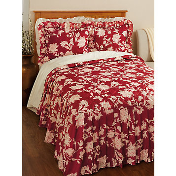 Microfiber Quilted Bedspread With 21