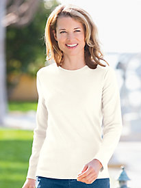 Coastal Cotton Long-Sleeve Tee