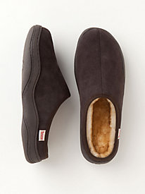 Men's Shearling Mules by Gold Violin