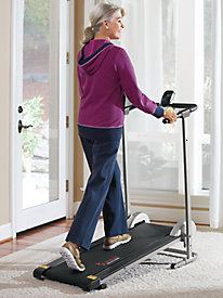 Folding Manual Treadmill