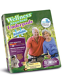 Wellness Absorbent Underpads by Blair