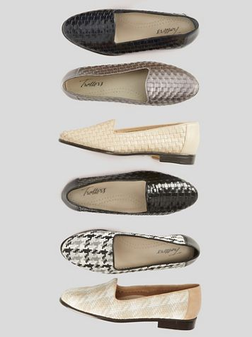 Liz Leather Woven Loafers by Trotters® - Image 1 of 24