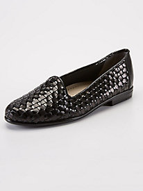 Liz Leather Woven Loafers by Trotters® by Appleseed's