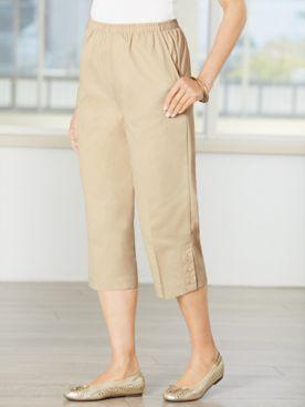 Classic Comfort® Pull-On Capris