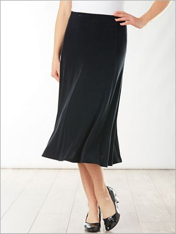 Signature Knits® Gored Skirt - Image 5 of 5
