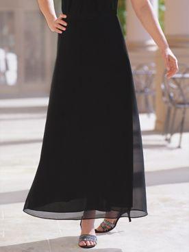 Georgette Evening Skirt