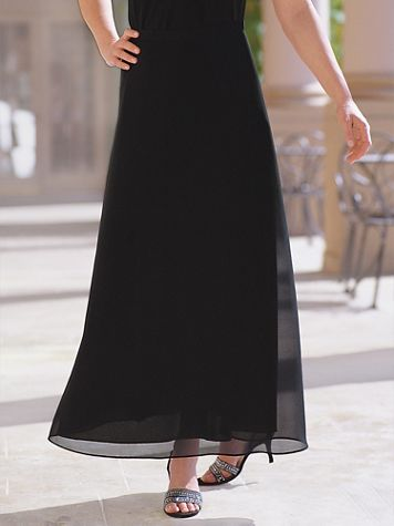 Georgette Evening Skirt - Image 5 of 5