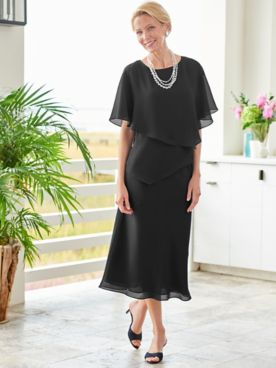 Special Occasion Flirty Two-Piece Dress