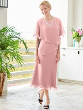 Special Occasion Flirty Two-Piece Dress