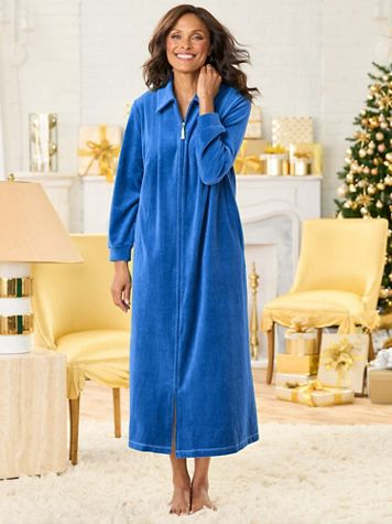 Tassel Velour Robe - Image 1 of 7