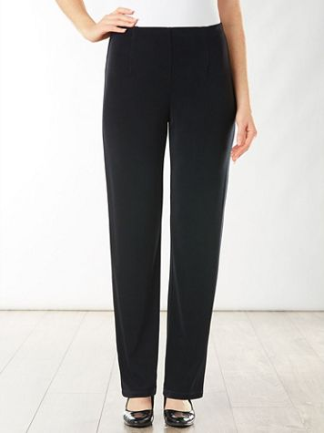 Signature Knits® Straight Leg Pull-on Pants