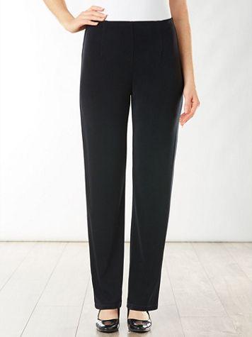 Signature Knits® Straight Leg Pull-on Pants
