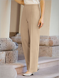 Perfect Ponte Knit Stitched Crease Pants