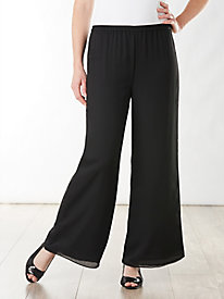 Georgette Soft Leg Pants